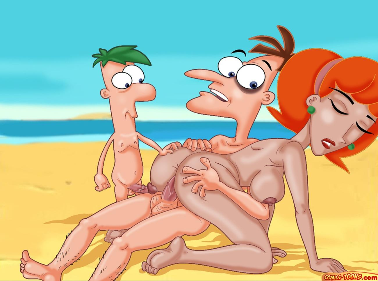 porn and phineas ferb comic Frozen sex fanfiction anna and kristoff