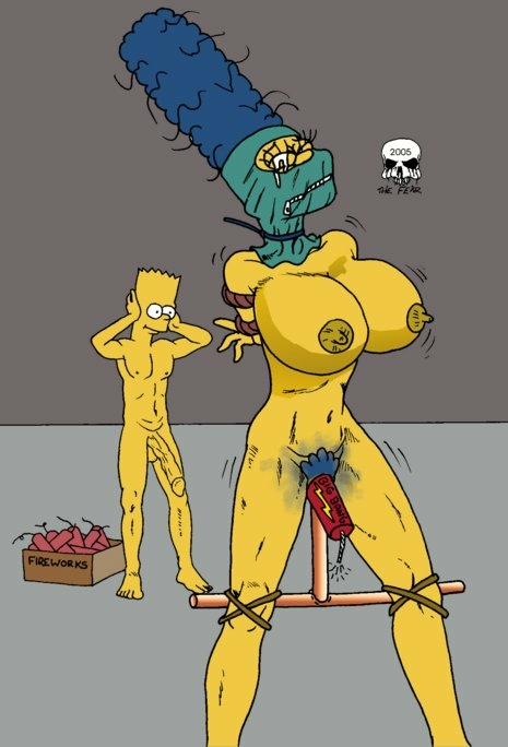 bart with simpson naked marge Harvest moon back to nature ann