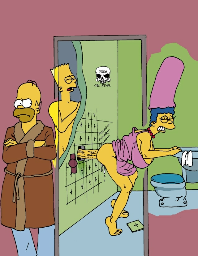 bart with simpson naked marge S-cry-ed scheris