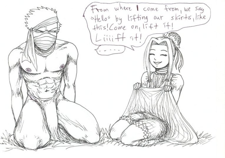 fem and fanfiction naruto zabuza Dc death of the endless
