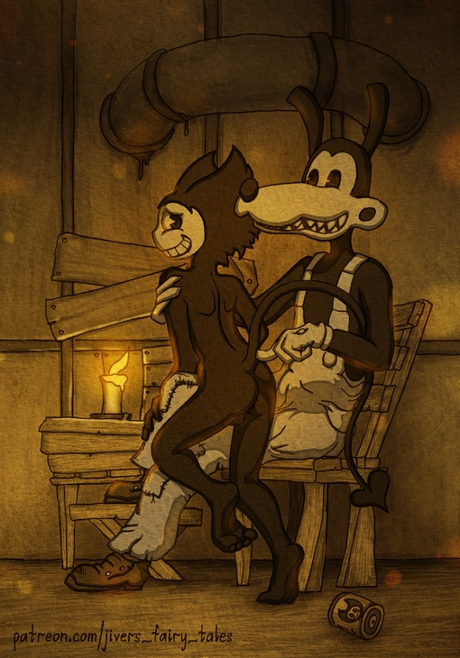 anime bendy bendy ink the and machine Conkers bad fur day