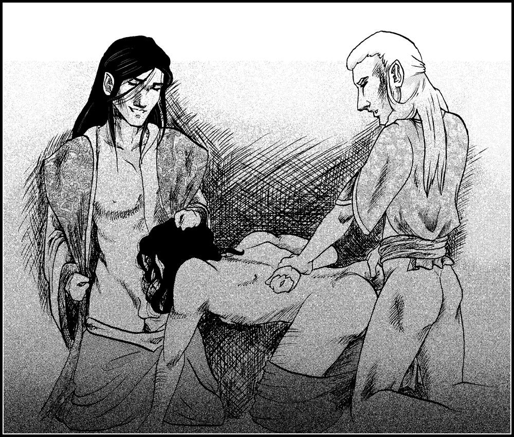 lord the rings of yaoi Shoujo and the back alley