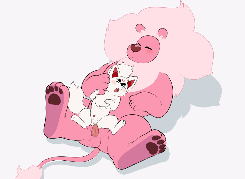 what is lion universe steven Why do cats have barbed genitalia