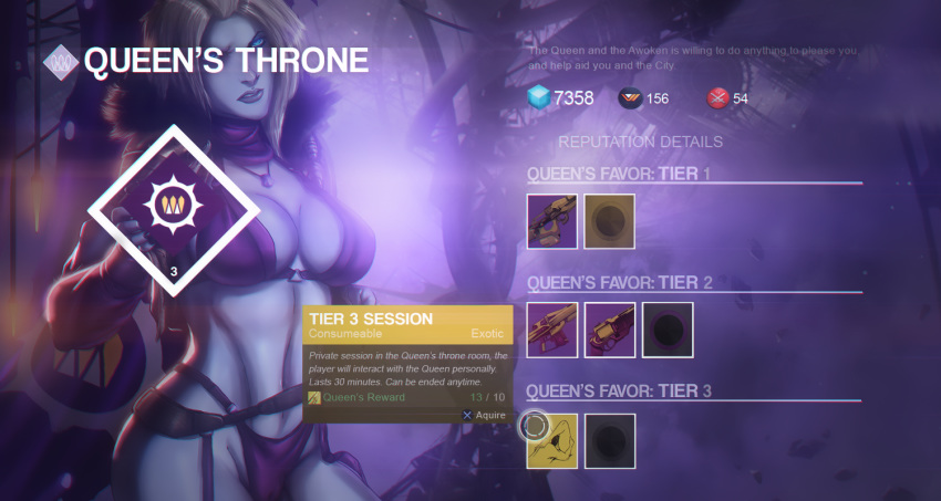 all queen hanasia, saiyans of the Warframe how to get trinity