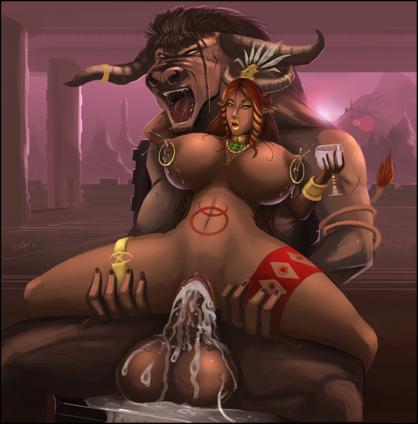 of blood minotaur corruption champions Cock cumming in pussy gif