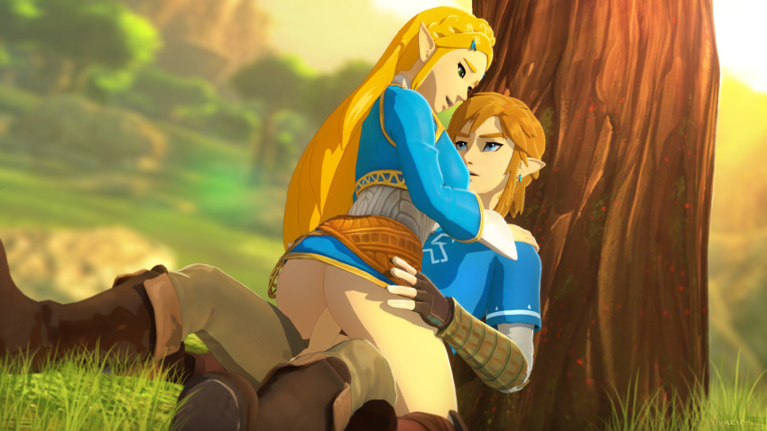 wild breath shirtless link of the Metroid fusion sa-x