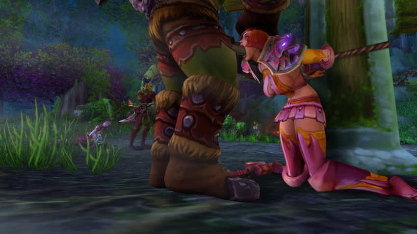 elf world warcraft of night Lrrr ruler of the planet omicron persei 8