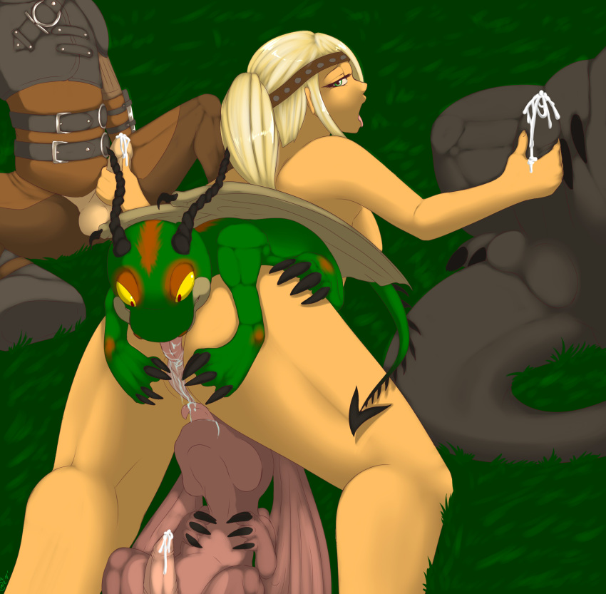dragon your to train sex astrid how Ren & stimpy naked beach frenzy